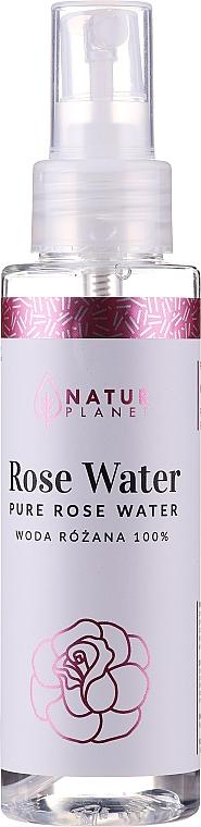 100% Reines Rosenwasser - Natur Planet Pure Rose Water