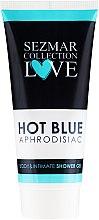 Düfte, Parfümerie und Kosmetik Intim- und Körper- Duschgel - Hristina Cosmetics Sezmar Collection Love Hot Blue Aphrodisiac Shower Gel