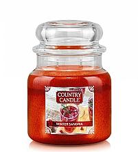Düfte, Parfümerie und Kosmetik Duftkerze im Glas Winter Sangria - Country Candle Winter Sangria