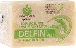 Düfte, Parfümerie und Kosmetik Hypoallergene Naturseife Delfin - Powrot do Natury Natural Soap Delfin