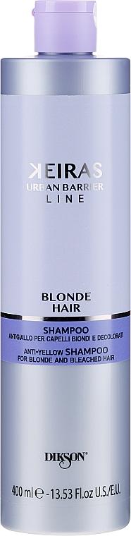 Anti-Gelbstich Shampoo für blondes und gebleichtes Haar - Dikson Blond Hair Anti-Yellow Shampoo For Blonde And Beached Hair