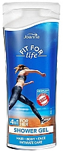 Düfte, Parfümerie und Kosmetik 4in1 Duschgel - Joanna Fit For Life Shower Gel (Mni)