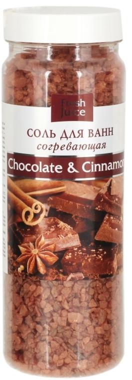 Badesalz Schokolade & Zimt - Fresh Juice Chocolate & Cinnamon