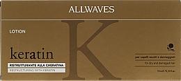 Düfte, Parfümerie und Kosmetik Haarlotion mit Keratin - Allwaves Reconstructuring Keratin Lotion