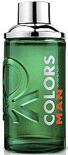 Düfte, Parfümerie und Kosmetik Benetton Colors Man Green - Eau de Toilette