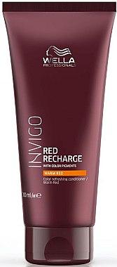 Farbauffrischende Haarspülung für warme Rottöne - Wella Professionals Invigo Color Recharge Warm Red Conditioner