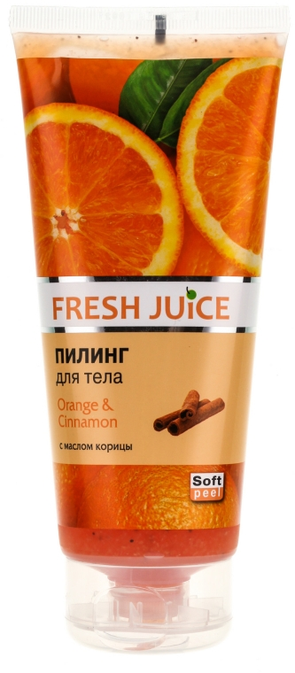 Körperpeeling mit Orangen und Zimtbutter - Fresh Juice Orange & Cinnamon