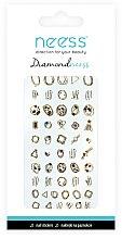Düfte, Parfümerie und Kosmetik Dekorative Nagelsticker 3713 - Neess Diamondneess