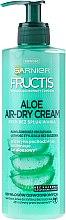Düfte, Parfümerie und Kosmetik Feuchtigkeitsspendende Haarcreme ohne Ausspülen mit Aloe Vera - Garnier Fructis Aloe Air-Dry Cream