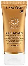 Düfte, Parfümerie und Kosmetik Sonnenschutzcreme für das Gesicht - Lancome Soleil Bronzer Smoothing Protective Cream SPF 50