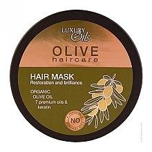 Düfte, Parfümerie und Kosmetik Regenerierende Haarmaske mit Olivenöl und Keratin - Argan Haircare