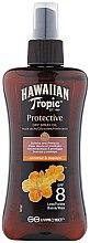Düfte, Parfümerie und Kosmetik Trockenes Bräunungsöl mit Kokos- und Papayaduft - Hawaiian Tropic Protective Dry Oil Spray SPF 8