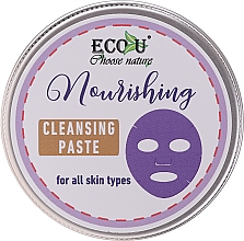 Düfte, Parfümerie und Kosmetik Pflegende Gesichtsreinigungspaste für alle Hauttypen - ECO U Nourishing Cleansing Paste For All Skin Types