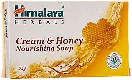 Düfte, Parfümerie und Kosmetik Nährende Seife mit Honig und Milch für normale und trockene Haut - Himalaya Herbals Cream Honey Soap