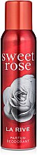 Düfte, Parfümerie und Kosmetik La Rive Sweet Rose - Deodorant