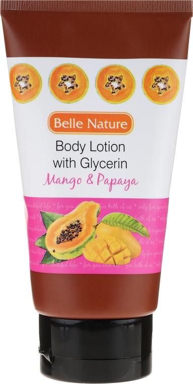 Körperlotion - Belle Nature Body Lotion With Mango & Papaya