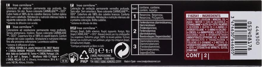 Permanente Cremehaarfarbe ohne Ammoniak - L'Oreal Professionnel Inoa Carmilane — Bild N3