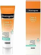 Düfte, Parfümerie und Kosmetik Porenreinigendes und seboregulierendes Gesichtsgel für lokale Pflege mit Salicylsäure - Neutrogena Clear & Defend Rapid Gel
