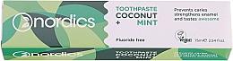 Düfte, Parfümerie und Kosmetik Schützende Zahnpasta mit Kokosnuss und Minze - Nordics Coconut + Mint Toothpaste