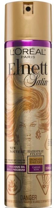 Haarspray mit Arganöl Starker Halt - L'Oreal Paris Elnett Precious Oil Hair Spray