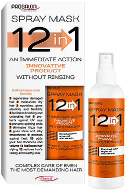 12in1 Spraymaske für das Haar ohne Ausspülen - Prosalon Hair Mask In Spray 12in1