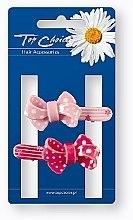 Düfte, Parfümerie und Kosmetik Haarspangen 24894 rosa, rot 2 St. - Top Choice