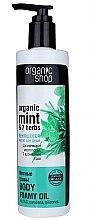 Düfte, Parfümerie und Kosmetik Duschöl mit Bio Minze und 7 Kräutern - Organic shop Body Foam Oil Organic Mint and 7 Herbs