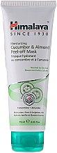 Düfte, Parfümerie und Kosmetik Gesichtspeelingmaske mit Mandel & Gurke - Himalaya Herbals