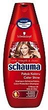 Düfte, Parfümerie und Kosmetik Farbschutz-Shampoo für coloriertes Haar - Schwarzkopf Schauma Color Shine Shampoo