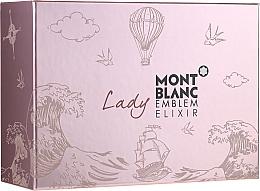 Düfte, Parfümerie und Kosmetik Montblanc Lady Emblem Elixir - Duftset (Eau de Parfum 75ml + Eau de Parfum-Mini 7.5ml + Körperlotion 100ml)