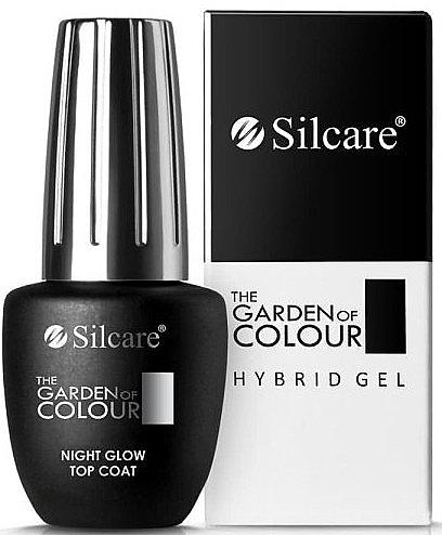 Hybrid Nagelüberlack - Silcare The Garden of Colour Night Glow Top Coat