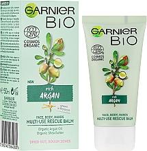Düfte, Parfümerie und Kosmetik Mehrzweck-Balsam für Gesicht und Körper mit Arganöl - Garnier Bio Rich Argan Multi-Use Rescue Balm