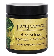 Düfte, Parfümerie und Kosmetik Beruhigende Detox Gesichtsmaske mit Kieselgur und Lindenblüten - Polny Warkocz