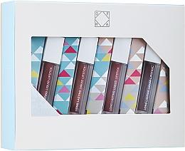 Düfte, Parfümerie und Kosmetik Ofra Fireside Hotties Mini Lip Set - Lippenpflegeset (Flüssiger Lippenstift 4x2g)