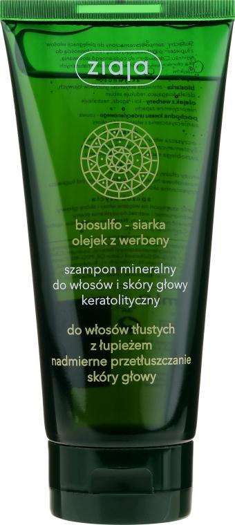 Mineralshampoo mit Eisenkrautöl - Ziaja Shampoo