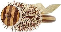 Klimafreundliche runde Bambusbürste d.43 - Olivia Garden Healthy Hair Eco-Friendly Bamboo Brush — Bild N2