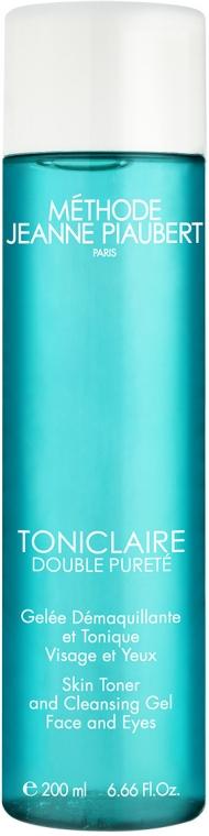 Reinigungstonikum - Methode Jeanne Piaubert Toniclaire Double Purete Skin Toner and Cleansing Gel Face and Eyes — Bild N1