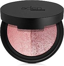 Düfte, Parfümerie und Kosmetik Gesichtspuder - Aden Cosmetics Blusher Duo