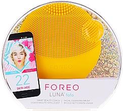 Düfte, Parfümerie und Kosmetik Reinigende Smart-Massagebürste für das Gesicht Luna Mini 3 Sunflower Yellow - Foreo Luna Fofo Smart Facial Cleansing Brush Sunflower Yellow