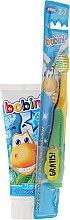 Düfte, Parfümerie und Kosmetik Mundpflegeset für Kinder - Bobini (Zahnbürste weich 2-7 Jahre + Zahnpasta 6+ Jahre 75ml)