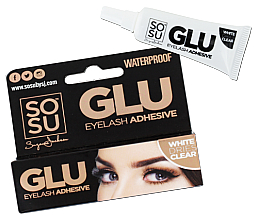 Düfte, Parfümerie und Kosmetik Wimpernkleber - Sosu by SJ Glue Eyelash Adhesive Clear
