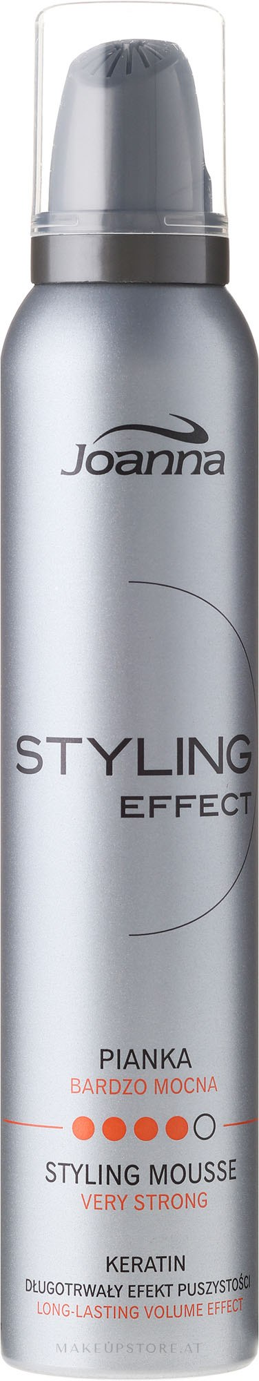 Lockendefinierende Haarmousse mit extra starkem Halt - Joanna Styling Effect Styling Mousse Strong — Bild 150 ml
