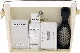 Düfte, Parfümerie und Kosmetik Duftset - Acca Kappa (Eau de Parfum 30ml + Körperlotion 100ml + Seife 50g + Haarbürste)