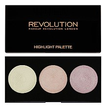 Düfte, Parfümerie und Kosmetik Highlighter-Palette - Makeup Revolution Highlight Palette
