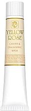 Düfte, Parfümerie und Kosmetik Maska do twarzy z ekstraktem z kawioru (tubka) - Yellow Rose Caviar & Marine DNA Face Mask