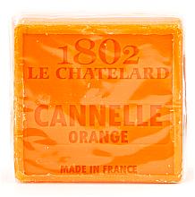 Düfte, Parfümerie und Kosmetik Seife Zimt und Orange - Le Chatelard 1802 Soap Cinnamon Orange
