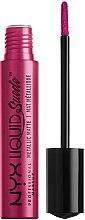 Düfte, Parfümerie und Kosmetik Flüssiger Lippenstift - NYX Professional Makeup Liquid Suede Metallic Matte