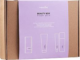 Düfte, Parfümerie und Kosmetik Gesichtspflegeset - Resibo Fresh Skin (Stirnband 1 St. + Waschgel 125ml + Gesichtscreme 50ml)