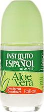 "Düfte, Parfümerie und Kosmetik Roll-on Deodorant ""Aloe Vera"" - Instituto Espanol Aloe Vera Roll-on Deodorant"