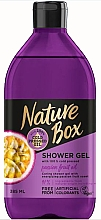 Düfte, Parfümerie und Kosmetik Duschgel mit kaltgepresstem Passionsfruchtöl - Nature Box Passion Fruit oil Shower Gel